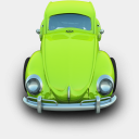 Icon: Beatle, cars archigraphs, Pixel: 128 x 128 px